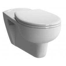 Elöl zárt fali WC mozgáskorlátozottaknak